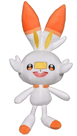 Amazon.com: PoKéMoN Sword & Shield - Peluche oficial de ...