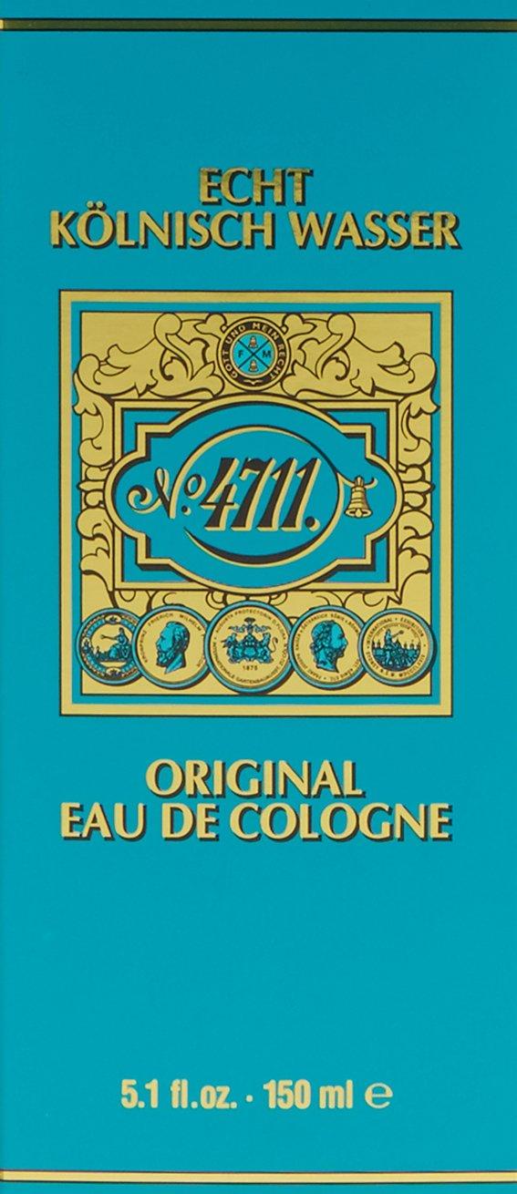 Muelhens 4711 Unisex Eea De Cologne Splash, 5.1 Ounce