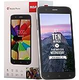 RCA Q1 4G LTE, 16GB, Unlocked Dual SIM Cell Phone, Android 6.0 - Black