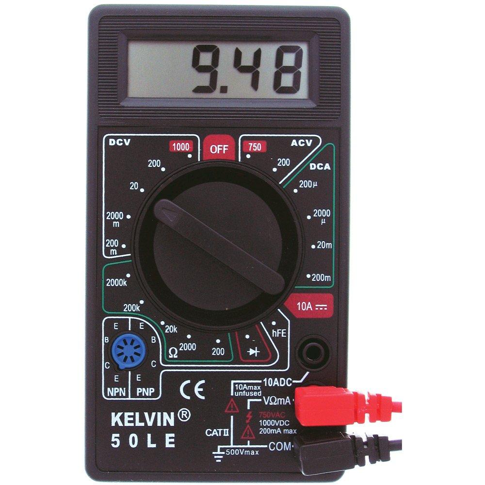 los clientes primero Kelvin, Digital Digital Digital Multimeter (92337)  garantizado