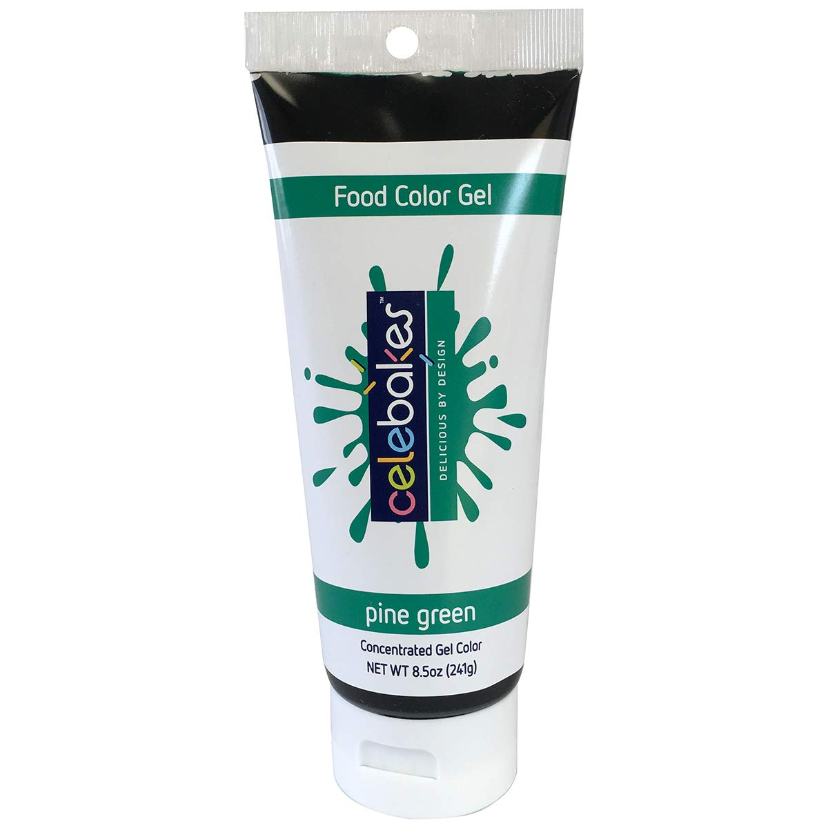 Celebakes by CK Products Pine Green Food Color Gel, 8.5 oz Tube