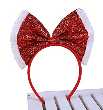 Amazon.com   Christmas Decorations New Style Headband Adult and ... 34b17426ab2