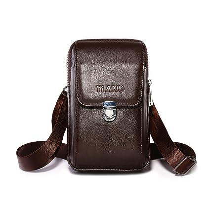 Amazon.com  AOLVO Small Crossbody Bags for Men af6da6b37018b