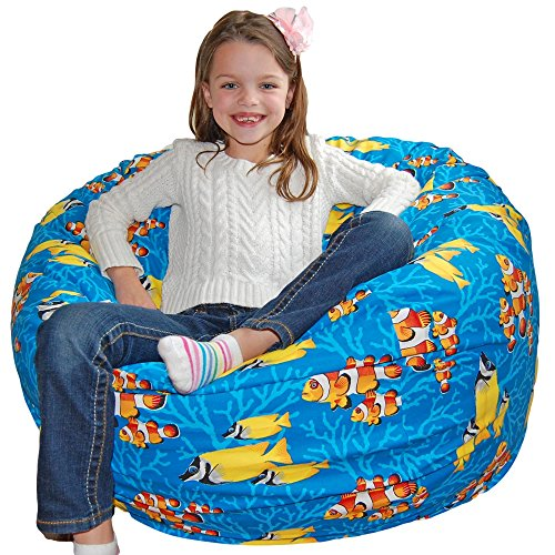 Themed Large Bean Bag Chairs Roomy Enough For Kids And