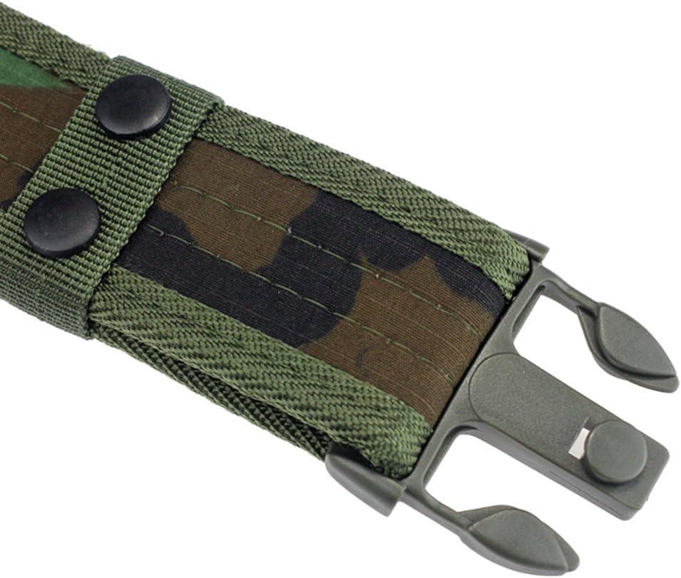 Etopfashion Equipos Militares Cintur/ón T/áctico Hombres Casuales Combate Al Aire Libre Militar Nylon Correas Regulares Caza De Emergencia Rigger Supervivencia