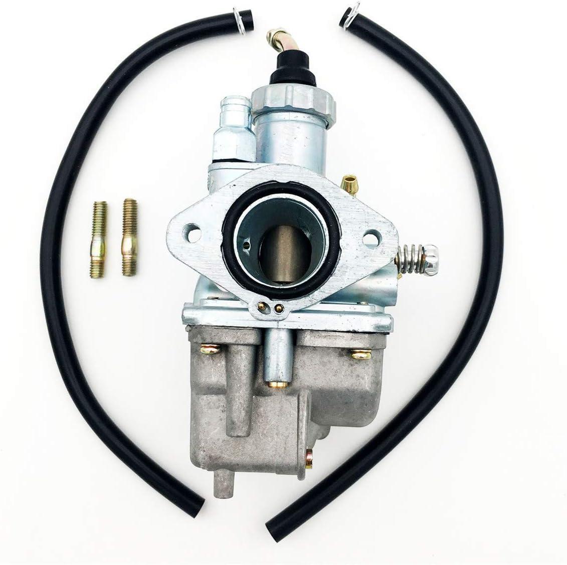 Carburetor w//Fuel Line Bolts for Yamaha Breeze Grizzly Grizzly 125 YFM125 Moto 4 YFM225 Timberwolf 250 YFB250