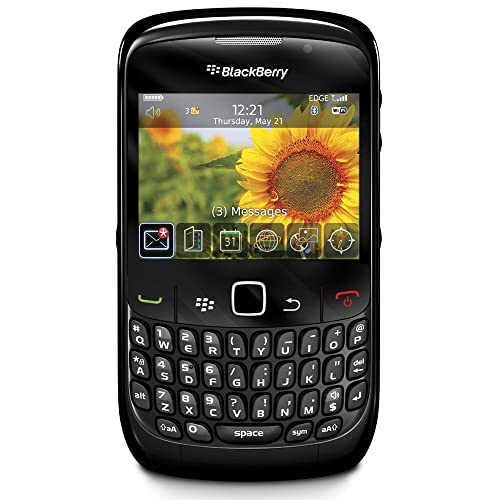BlackBerry Curve 8520 Sim Free Smartphone - Black