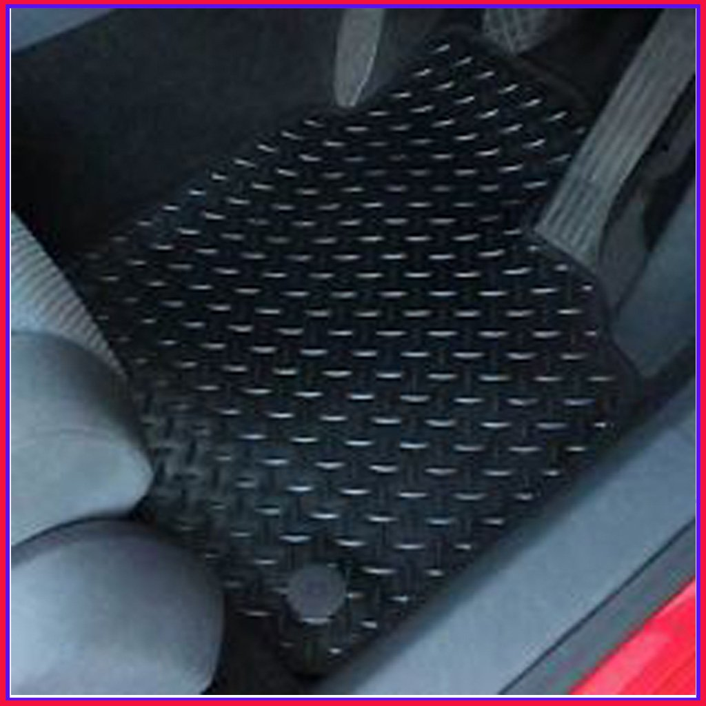 SCANIA R SERIES & OPTICRUISE AUTO RUBBER & BLACK TRIM TAILORED CAR MATS MIDELTON MATS