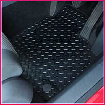 TRANSIT CONNECT 2014 ON RUBBER /& BLACK TRIM TAILORED CAR MATS