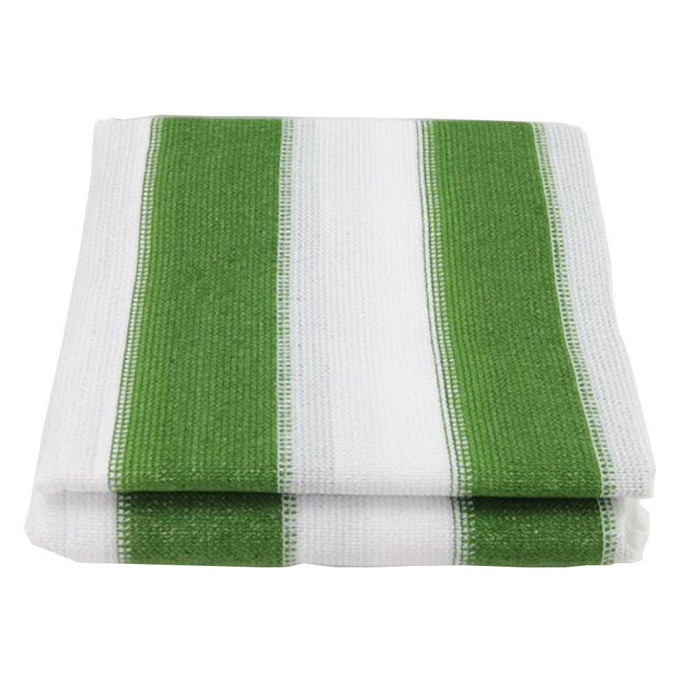 DYFYMXUV Ombra Rete Rete per ombrelloni, Balcone criptato Giardino pianta grassa verde Isolamento Rete Protezione Rete Tasso di ombreggiamento 90% (colore   verde bianca, Dimensioni   4x5m)