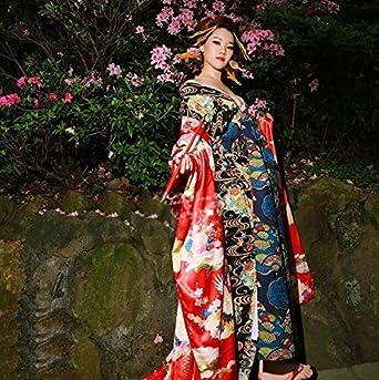 コスチューム 高級 吉原花魁 和柄 着物風 癒し和美人 和服 (オーダー