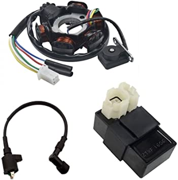 GY6 150cc MAGNETO STATOR COIL CDI BOX IGNITION COIL ATV SCOOTER  GO KART MOPED