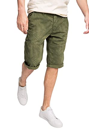 Mens MIT Muster Shorts EDC by Esprit Fast Delivery Sale Online LJHb0Sk