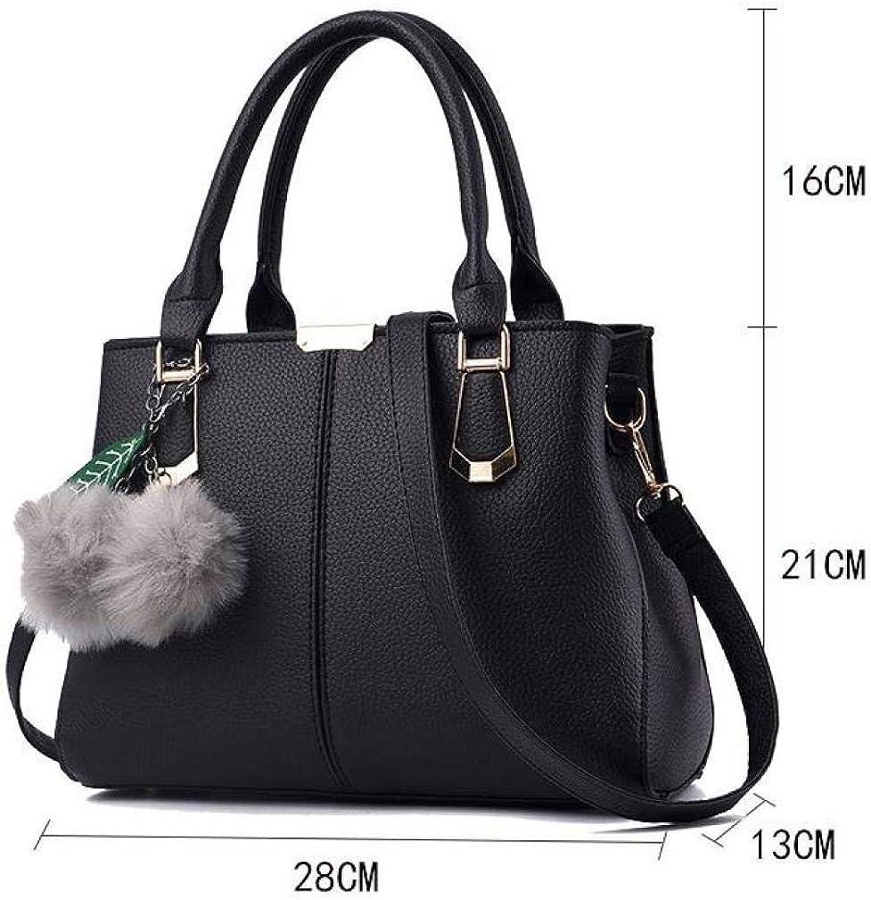 Women Handbag Shoulder Bag Crossbody Bag,Fashion Mother Bag Large Capacity Pu Leather Handbag Shoulder Bag