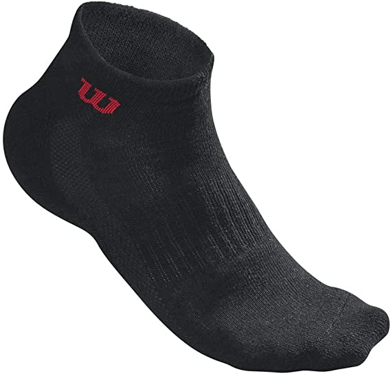 Wilson Quarter Sock Calectin Tenis, Unisex Adulto, Negro, 39-46 ...