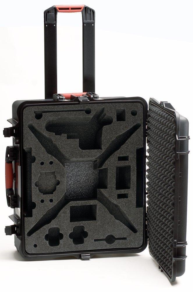 HPRC HPRC2700WPHA2 Wheeled Hard Case with Foam for DJI Phantom Vision 2