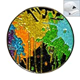 Loudmouth Drop Cloth Ball Marker with Crushed Crystal and Hat Clip by Navika