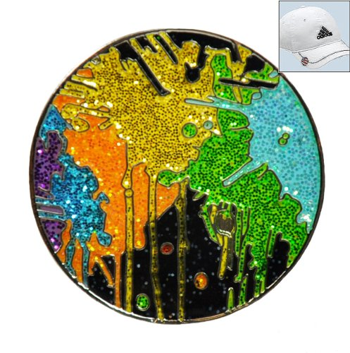 loudmouth-drop-cloth-ball-marker-with-crushed-crystal-and-hat-clip-by-navika
