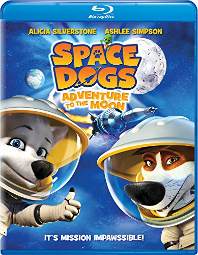 Space Dogs: Adventure to the Moon [Blu-ray]