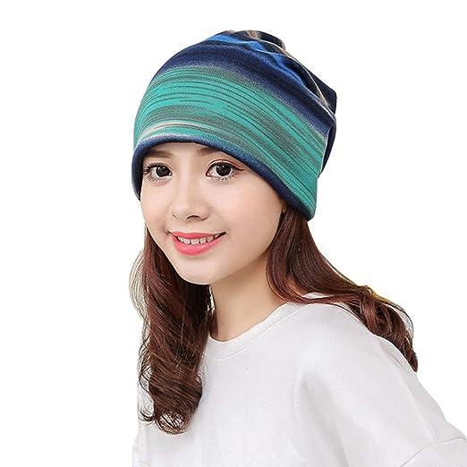 Alalaso Women Stripe Hat 6febd7f00696