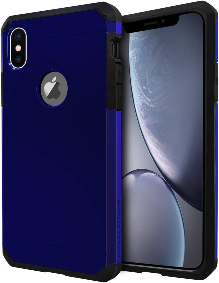 Funda de alta resistencia para iPhone X / iPhone Xs Azul