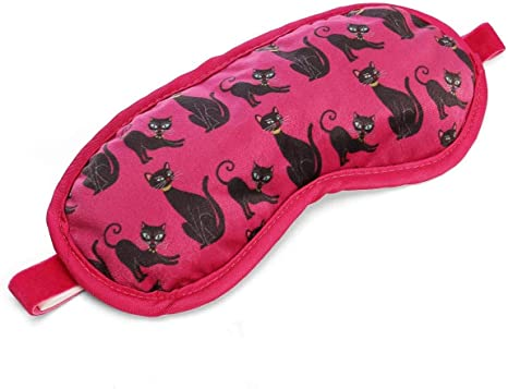 Lavender Filled Cotton Sleep Eye Mask Sleeping Eye Blindfold Travel mask cats