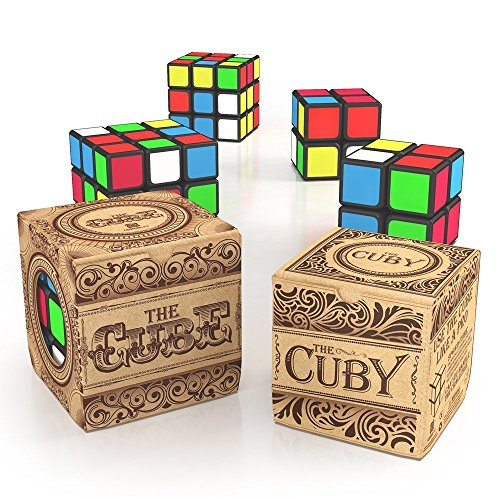 aGreatLife Fun Puzzle Bundle: 3x3x3 Cube and 2x2x2 Cuby - Be