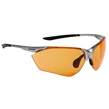 Alpina Brille Splinter HR C+, Fassung: Titan-Black; Gläser: Orange Fogstop S1, A8510025