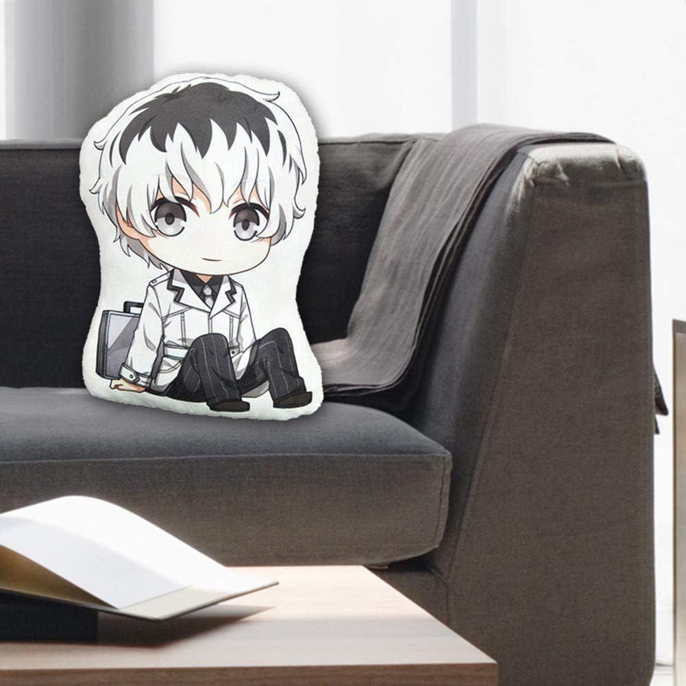 ALTcompluser Tokyo Ghoul Coussin d/écoratif en Peluche pour canap/é d/écoration de Voiture