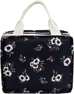 Rolin Roly 2 Paquete Bolsa del Almuerzo Impermeable Lonchera Para Ni/ñas Lunch Bag A