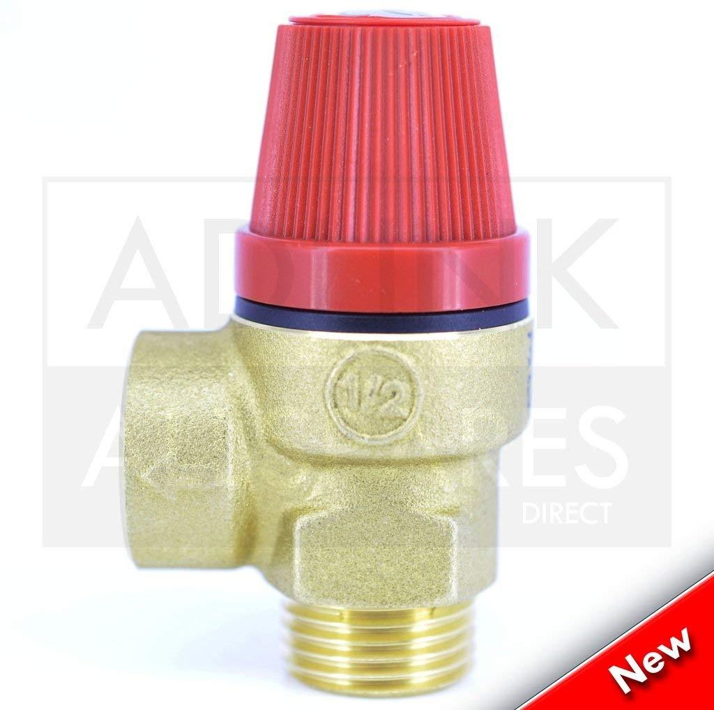 Halstead Ace Feinste Druck Entlasstung Sicherheitsventil 450987