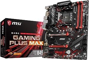 MSI B450 Gaming Plus MAX scheda Madre Presa AM4 ATX AMD B450