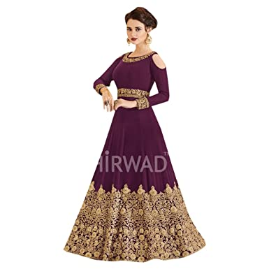 Amazon Com Purple New Festive Designer Women Kaftan Maxi Dress