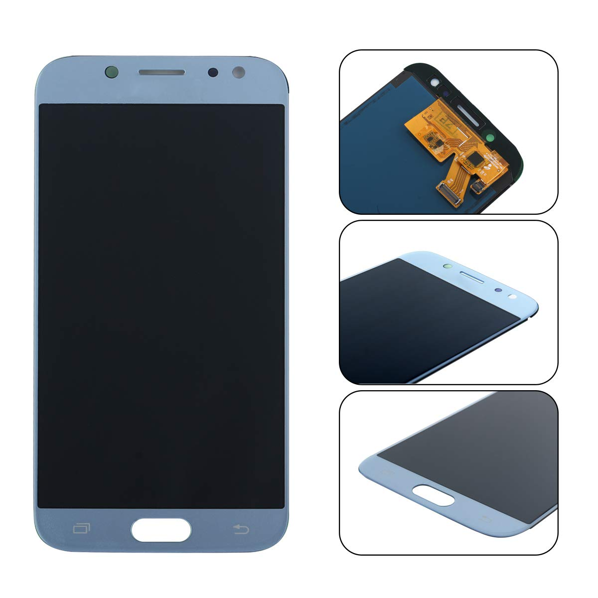 Nero Utensili YHX-OU per Samsung Galaxy J5 2017 J530 SM-J530F di Riparazione e Sostituzione LCD Display Touch Screen Digitizer