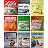 Eis Chips Birchwood Xylitol Candy in Resealable Pouches - Low Carb, Gluten Free, Keto Friendly (9 Flavors)