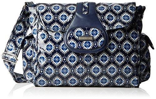 Medallion Travel Bag (Kalencom Diaper Bag, Elite Navy Medallion)
