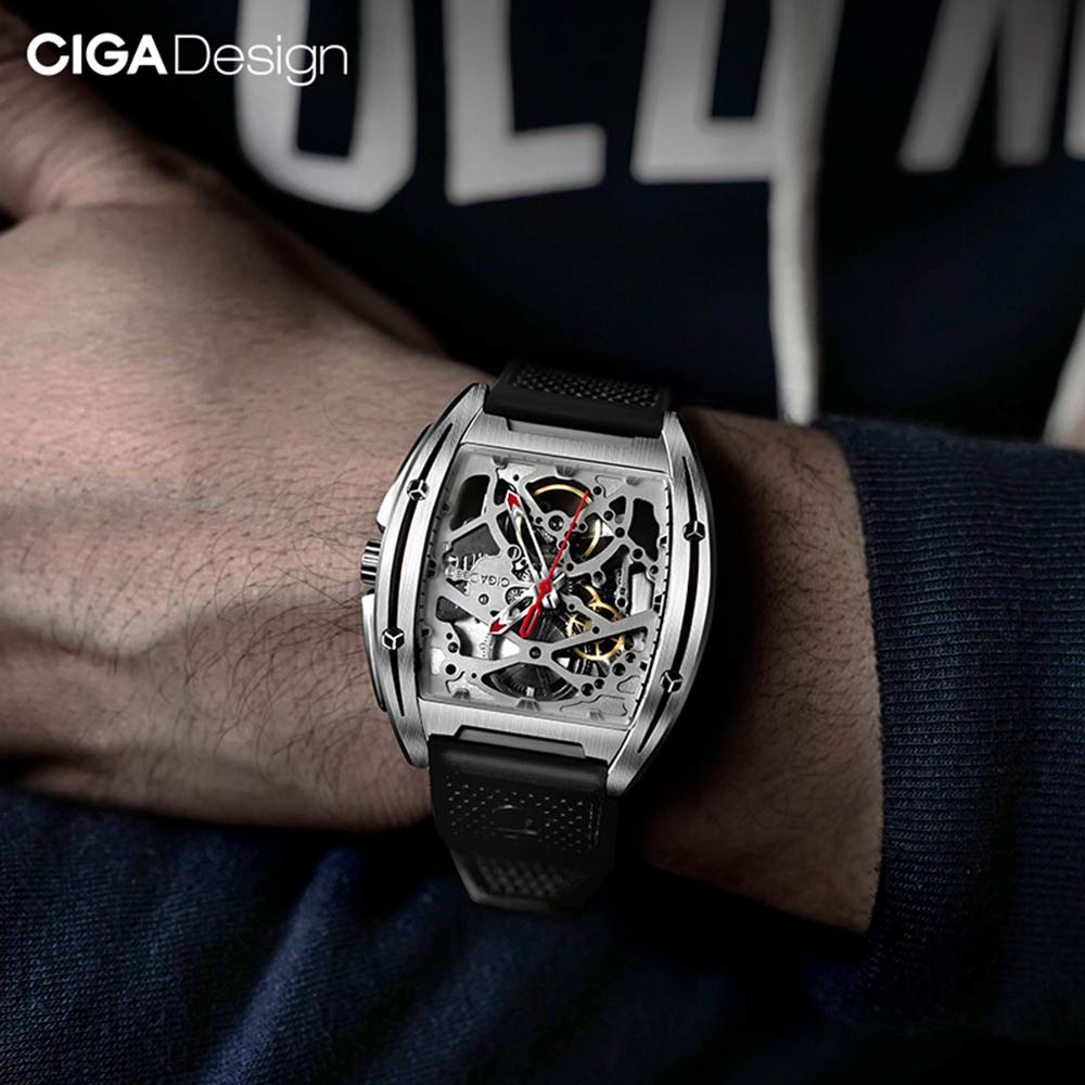CIGA Z Series Titanium Hollow Mechanical Watch