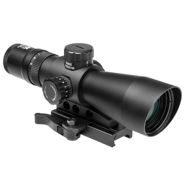 NcStar 3-9X 42mm Mark III Tactical Series Rifle Scope, Black