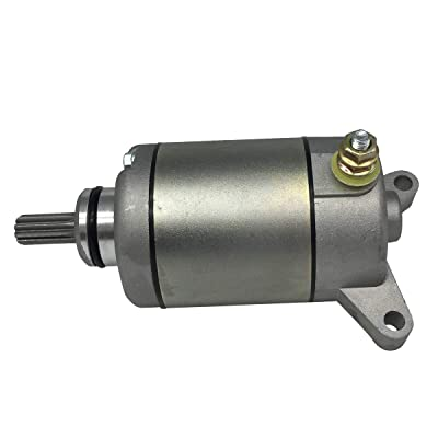 shamofeng 18761N Starter Motor FIT Yamaha ATV YFZ450 2004-2013 Replaces OE#: Yamaha 5TG-81800-00-00, 5TG-81890-00-00: Automotive