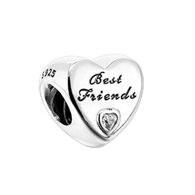 pandora charm best friends forever
