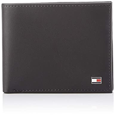 b08d4f4c492 Tommy Hilfiger Men's ETON MINI CC WALLET Wallets Black Size: Dimensions (W  x H