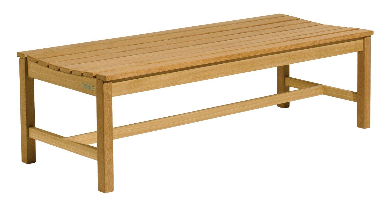Amazon.com : Oxford Garden 2 Foot Shorea Backless Bench : Outdoor Benches :  Garden U0026 Outdoor