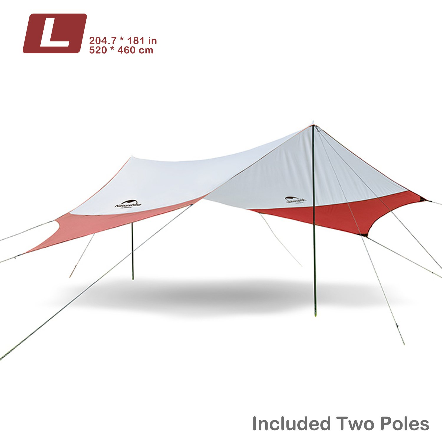 to poles uv pin sun beach shelter awning tent visit buy waterproof canopy with