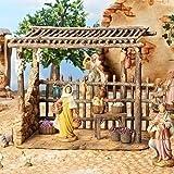 Fontanini Bazaar Italian Nativity Village Building Figurine 55586 Made in Italy