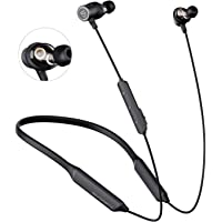 SOUNDPEATS Dual Dynamic Drivers Bluetooth Headphones, Neckband Wireless Earbuds with Crossover, APTX HD Audio Built in…
