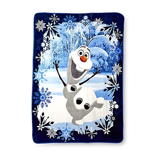 Disney Frozen Plush Throw Blanket