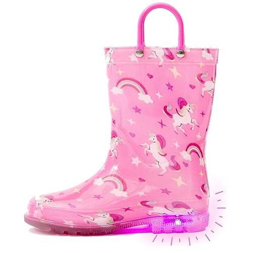 Outee Toddler Girls Kids Light Up Rain