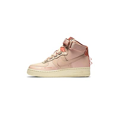 low priced 16a85 ad948 Nike Women s AF 1 Hi UT Particle Beige AJ7311-200 (Size  ...