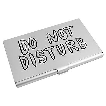 Do Not Disturb Porte Carte De Visite Credit CH00005446