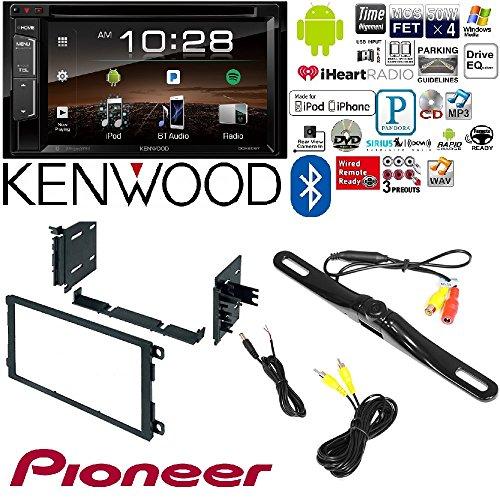 Kenwood DDX25BT Double DIN SiriusXM Ready Bluetooth In-Dash DVD/CD/AM/FM Car Stereo Receiver w/ 6.2